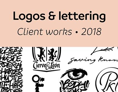 Logos & Lettering 2018