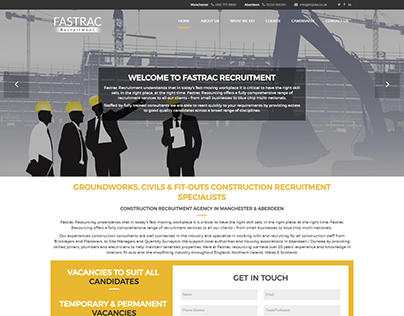 Fastrac Recruitment: Construction Recruitment Agencies