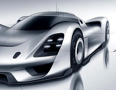 Porsche 908/04 Vision GT