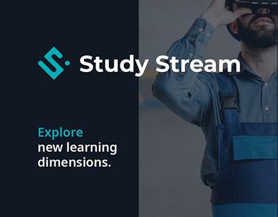 StudyStream landing page