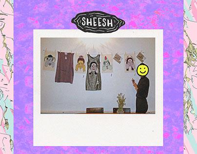 Sheesh - Exhibition at Primeiro Andar