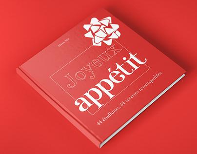 Livre de recettes - Design de publication