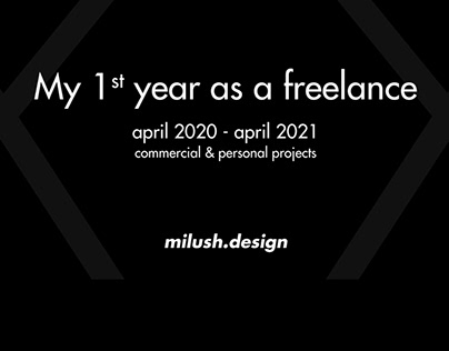 My 1st year as a Freelance
