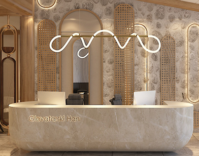 Glavatarski Han Hotel - Lobby & Restaurant area