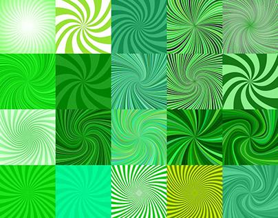 30+ Green Spiral Backgrounds