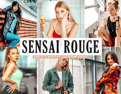 Free Sensai Rouge Mobile & Desktop Lightroom Preset