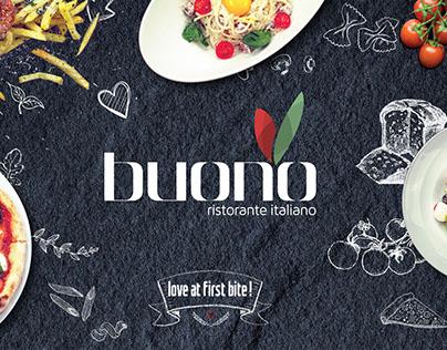 Buono Italian Restaurant   Corporate Identity