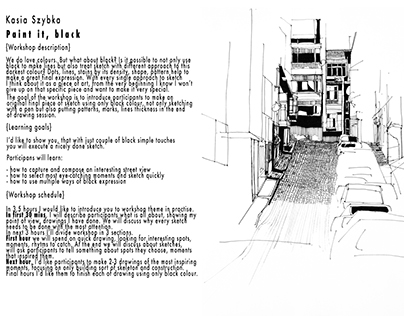 Urban Sketchers Workshop proposal