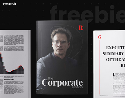 Free inDesign Template - Corporate Edition