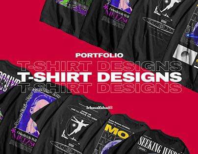 Tshirt Designs Portfolio 2021