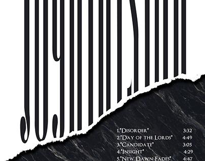 Joy Division Unknown Pleasure album poster. (rework)