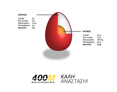 Happy Easter card for 400M Executive Training Club