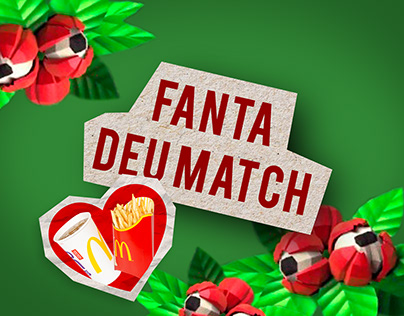 Social Media | Promoção Fanta Deu Match com McDonald's