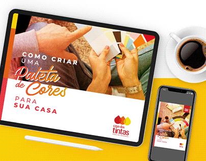Casa das Tintas - E-book