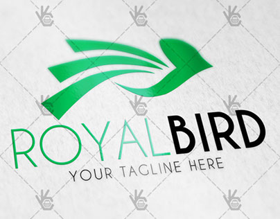 Bird – Free Logo PSD Template