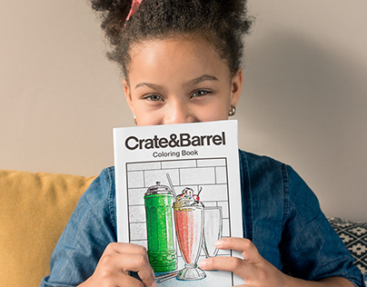 Crate&Barrel - Coloring Book
