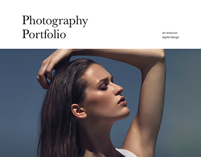 Photography Portfolio Webdesign