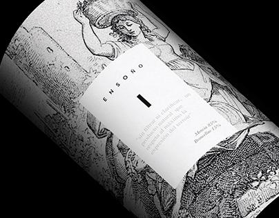 ENSOÑO Creative Wine Label Design