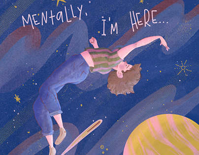 Mentally, I'm here...