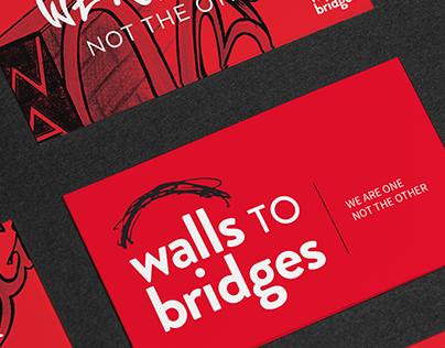 Walls to Bridges Brand Design