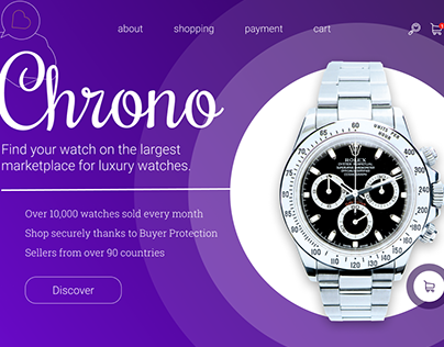 Chrono. Интернет-магазин часов