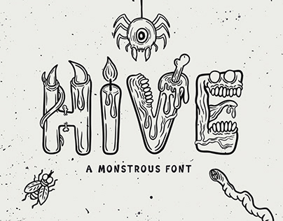 Hive - Free Font