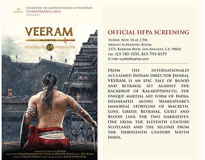 'VEERAM' MOVIE OFFICIAL SCREENING- 11-8-16, USA