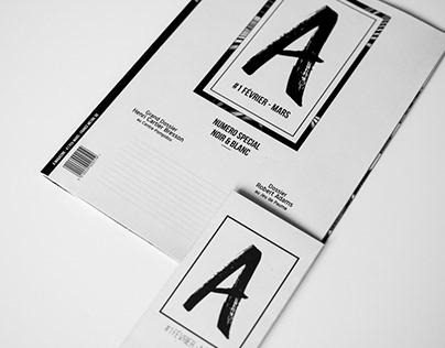 A Magazine // Editorial Design