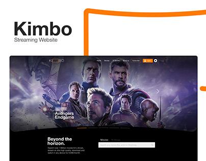 Kimbo - Streaming Website