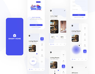 Smart Home App | App design