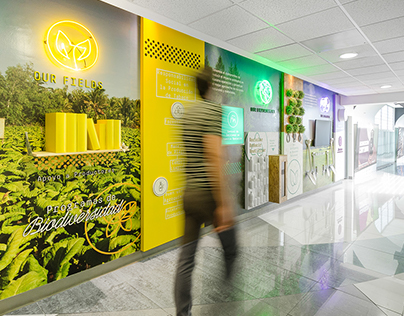 BAT Sustainability Hallway