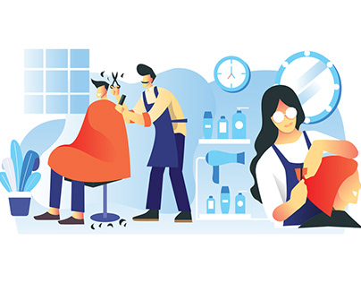Hairdresser Illustration