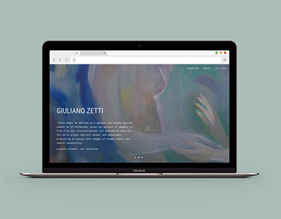 Giuliano Zetti → Portfolio Website