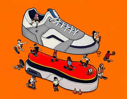 Kanui x Ride - Tênis comemorativo 9 anos de Kanui