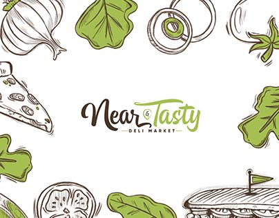 Near & Tasty Branding