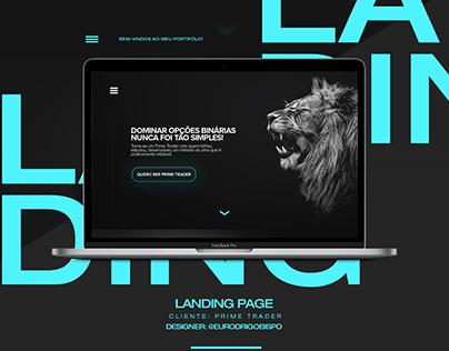 Landing Page - Tony Burse