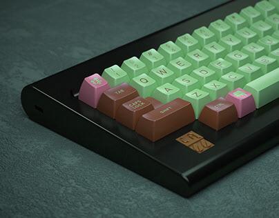 抹CHOCO - Mechanical keyboard/keycaps design