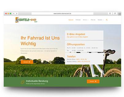 Website Bicycle Shop