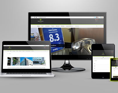 Web Site Hotel Gameiro