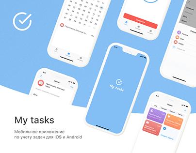 My tasks | IOS/Android App