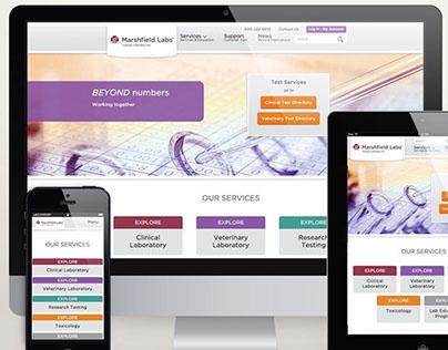 Marshfield Labs | Website Redesign