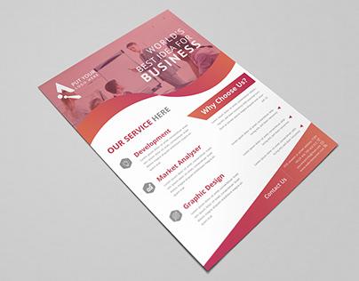 Creative & Modern Corporate Flyer