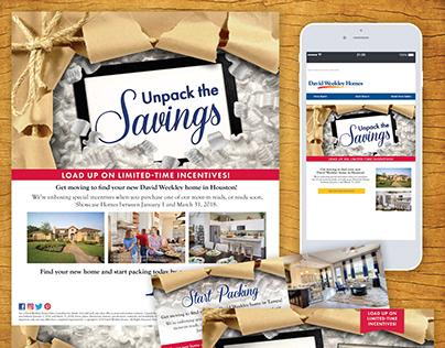Unpack the Savings Promotion