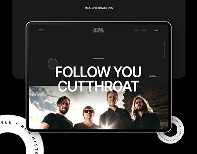 Imagine Dragons — New Website 2021