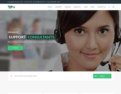 Upai - Consultancy and Business PSD & HTML5 Template