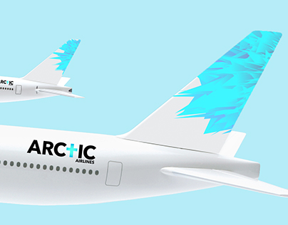 Logo and boarding pass for airlines