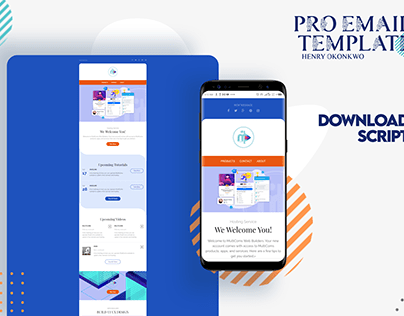 Email Template Design - Free Download