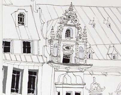 A week in Bremen in my sketchbooks