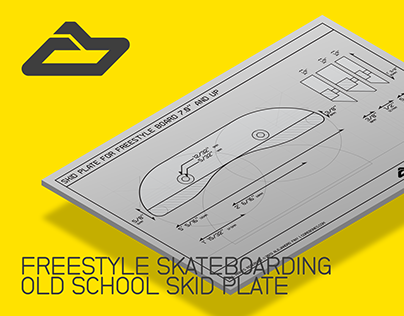 Industrial Design: Freestyle Old School Skid Plate