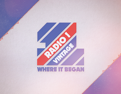 BBC Radio 1 Vintage - Motion Graphics